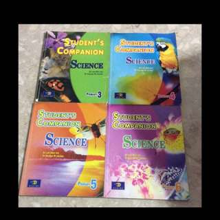 Science Student's Companion For P3, P4, P5, P6