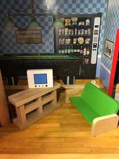 Wood toy set