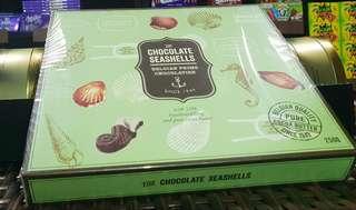 Chocolate seashells belgian prime 250g