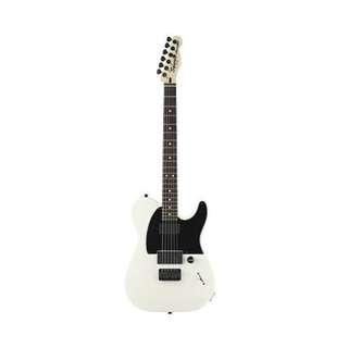 Squier Artist Jim Root Telecaster Guitar, Rosewood Neck, Flat White