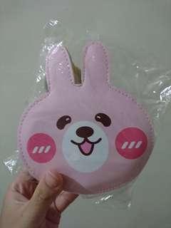🚚 粉紅兔兔 兔子 全新 拉鏈 零錢包