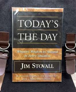 《New Book Condition + The Wisdom You Need To Succeed》Jim Stovall - TODAY'S THE DAY Winner's Wisdom to Succeed in Every Situation: