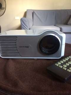 Projector mini cdr king
