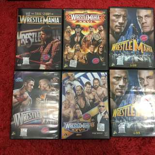 WWE Wrestlemania DVD
