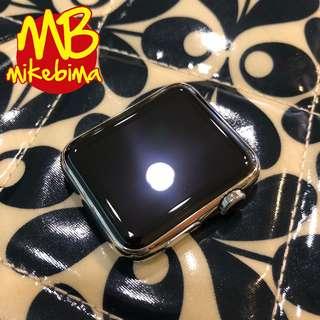 Apple WATCH 42MM Stainless Steel 1st gen bs TT iPhone X