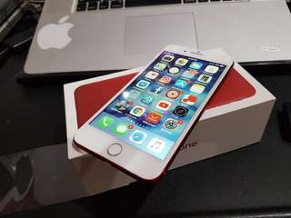 Iphone 7 Plus Red edition 256GB