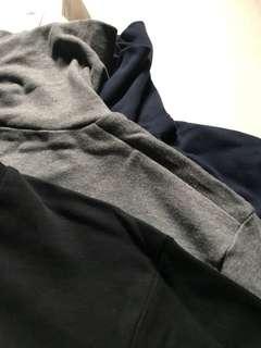 T-Shirt turtle neck Uniqlo