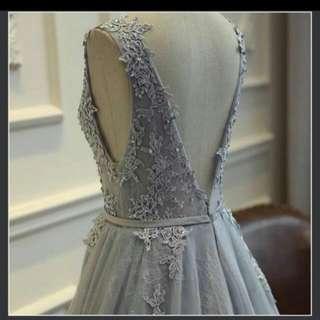 Evening Dress 灰色晚裝 Pre Wedding