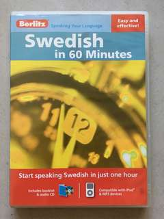 Berlitz Swedish in 60 Minutes