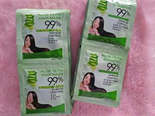 Aloe Vera Shampoo And Conditioner