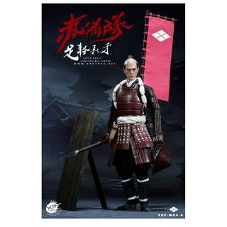 [PRE ORDER] Pop Toys - POP-W04-B - Armor Team - Ashigaru Spear (Deluxe Version) - 1/6 Collectible Action Figure