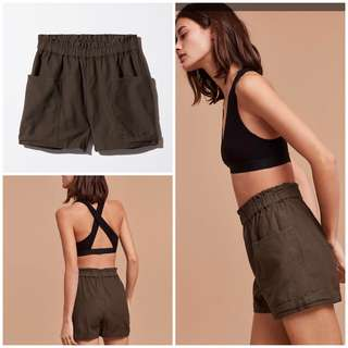 Aritzia Shorts (Community) *Army Green*
