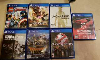PS4 Games 2件以上包郵