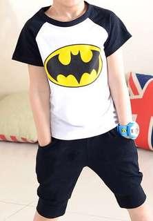 BN Batman Tee and Shorts Set