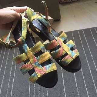 Batik Strap Sandal