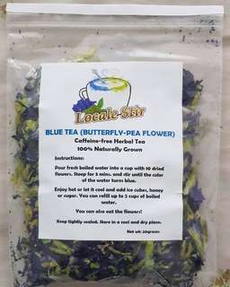 Blue Tea (Butterfly-Pea Flower)