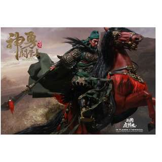 [PRE ORDER] INFLAMES TOYS - IFT-032 - Soul Of Tiger Generals - Guan Yunchang & The Chitu Horse - 1/6 Collectible Action Figure