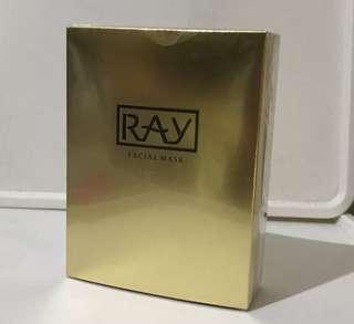 Thailand Ray Gold Silk Facial Mask