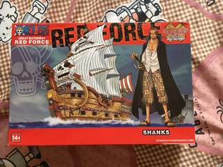 Shanks Red Force Ship