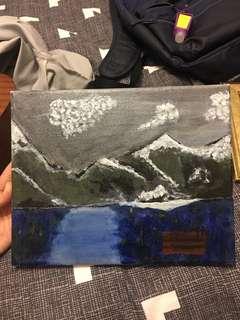 ugly acrylic on canvas