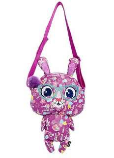 Smiggle Purple Bunny Shoul okder Bag