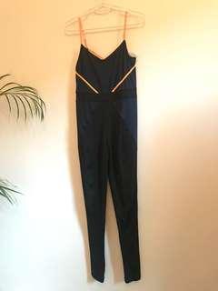 One piece gym jumpsuit