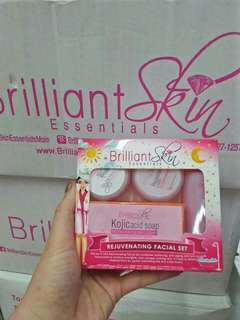 Brilliant Skin Kojic Acid Soap Set