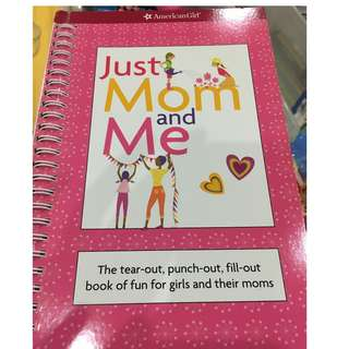 Mom and Me book (by American Girl)