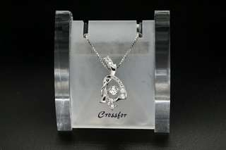 Crossfor New York Dancing Stone Promise NYP-568 Silver Necklace