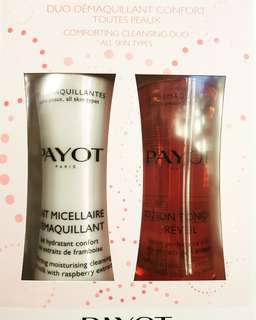PAYOT CLEANSING MILK AND TONER SET