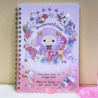 Original San-X Sheep Series Sentimental Circus Shappo Ring Notebook