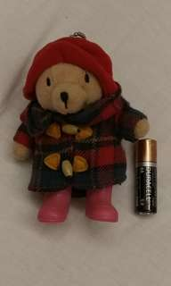 柏靈頓公仔 Paddington Bear 7-11 keychain