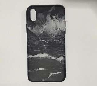 Matte Marble iPhone X Case