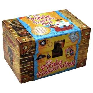 Buku Aktivitas Anak Import - My Pirate Treasure Chest
