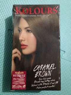 Kolours Caramel Brown