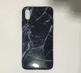 Marble Glossy iPhone x case