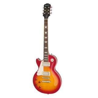 Epiphone Les Paul Standard Plus Top Pro Left-Handed Electric Guitar, Heritage Cherry Sunburst