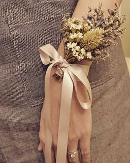 Enchanted wrist corsage