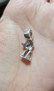 Code SS770 - Bambi Deer 100% 925 Sterling Silver Charm, Chain Is Not Included, Compatible With Pandora