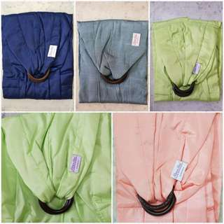 Momsinmind Silk Baby Ring Sling *NEW*