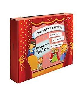 Buku Aktivitas Anak Import-Princess Tales (Read & Play Puppet Theater)