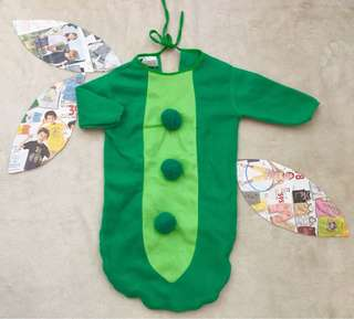 Pea Pod Costume for baby (9-12mos)