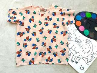 Art Smock for Kids 3-6yo