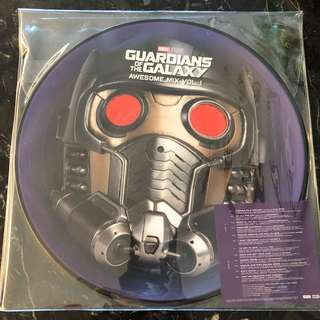 Guardians of the Galaxy vol 1 . Picture vinyl Lp. New
