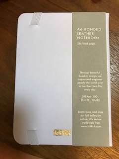 A6 Bonded Leather Notebook