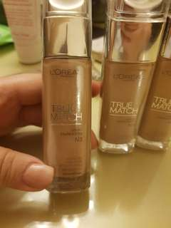FOR SALE LOREAL TRUE MATCH FOUNDATION