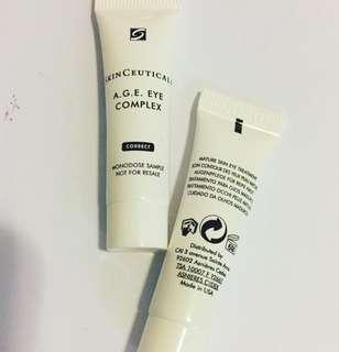 2枝 Skin ceutical AGE eye complex 眼霜 4ml