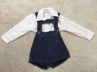 German or Swiss Costume for Toddler (1-2yo)