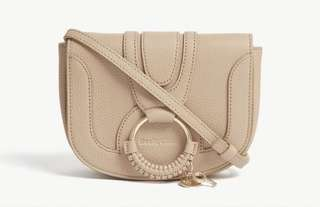 SEE BY CHLOE Hannah small leather cross-body bag