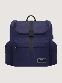 TAS RANSEL / BACKPACK MOCHILO SIXTO NAVY